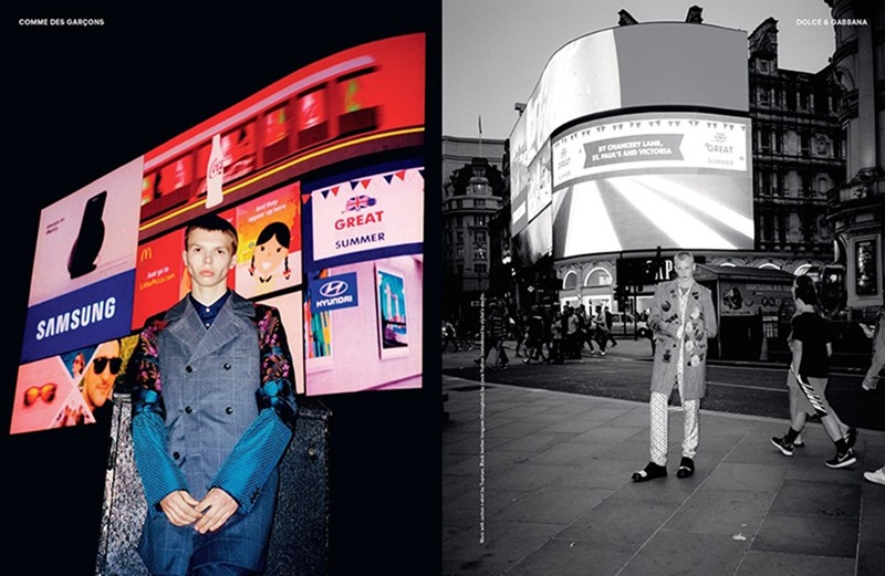 ANOTHER MAN MAGAZINE James Marlon & Tim by Sam Rock. Ellie Grace Cumming, Fall 2016, www.imageamplified.com, Image Amplified2