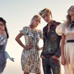 C MAGAZINE: Pyper America Smith, Sarlie, Daisy Clementine & Lucky Blue Smith by Mary McCartney