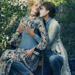 CR FASHION BOOK: Lara Stone & Filip Hrivnak by Sebastian Faena