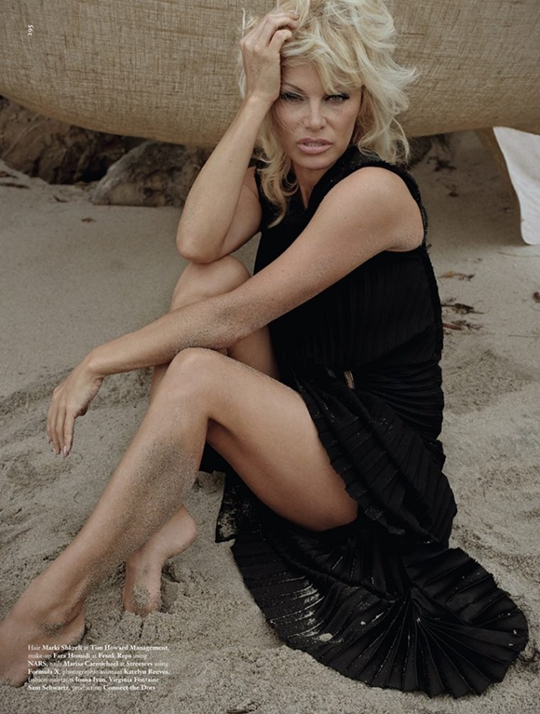 DAZED MAGAZINE Pamela Anderson by Zoe Ghertner. Emma Wyman, Fall 2016, www.imageamplified.com, Image Amplified (1)