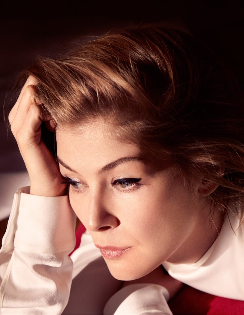 DIOR MAGAZINE Rosamund Pike by Camilla Akrans. Martine de Menthon, Fall 2016, www.imageamplified.com, Image Amplified2