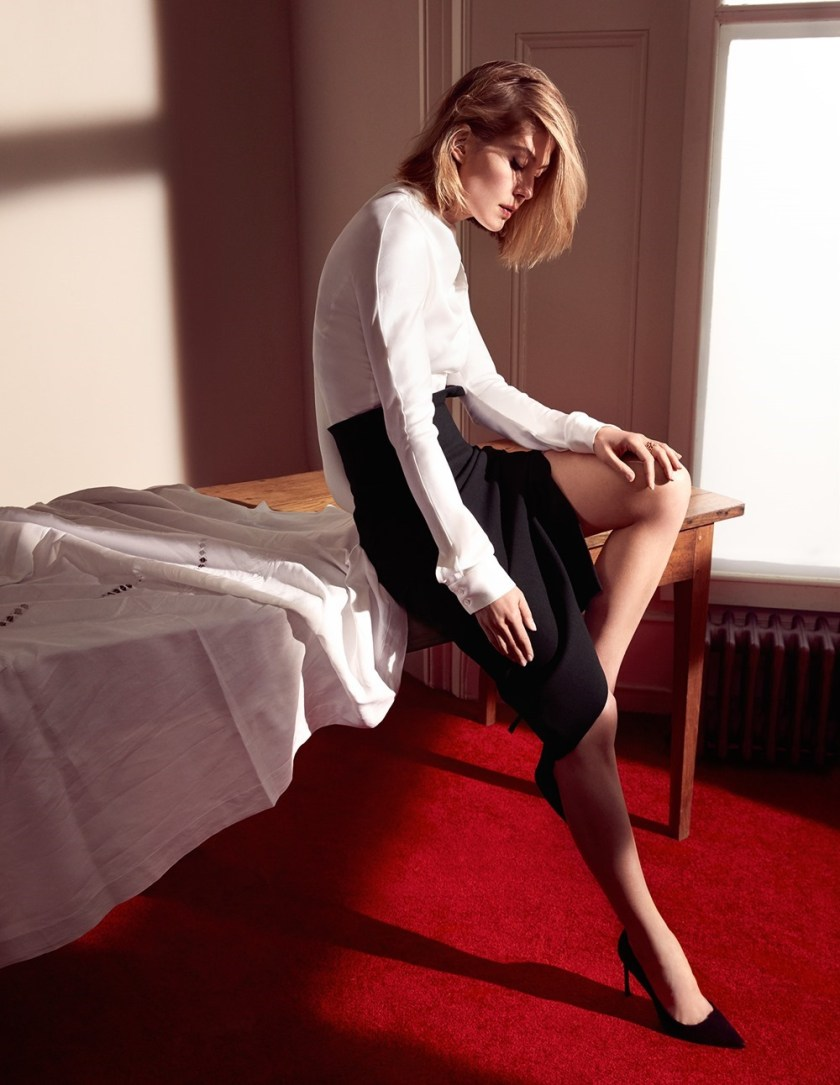 DIOR MAGAZINE Rosamund Pike by Camilla Akrans. Martine de Menthon, Fall 2016, www.imageamplified.com, Image Amplified4