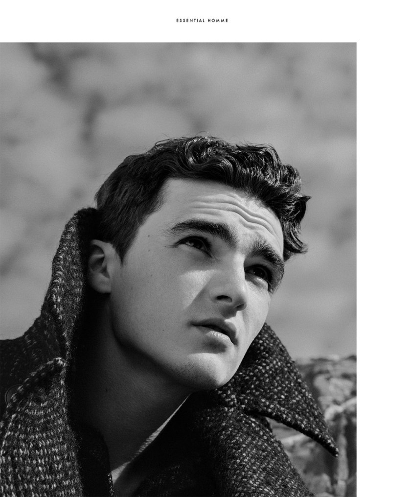 ESSENTIAL HOMME Linus Jasper & Elliot Vulliod by Byron Mollinedo. Joshua Glass, Fall 2016, www.imageamplified.com, Image Amplified11