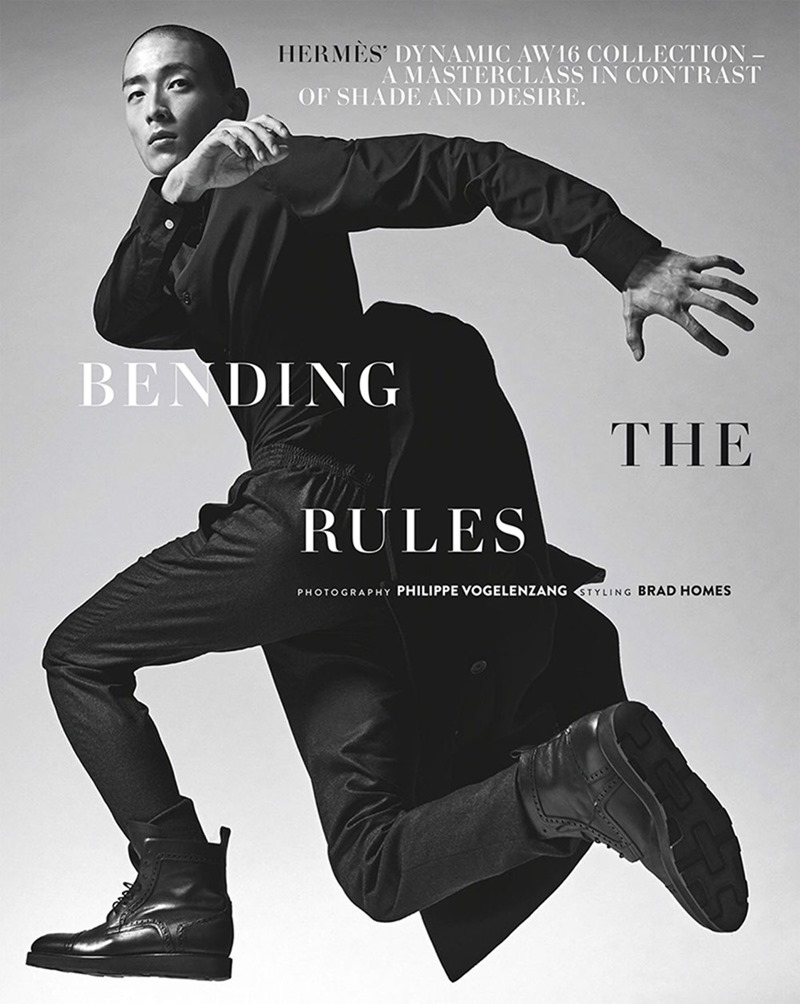 GQ AUSTRALIA Sung Jun Park by Philippe Vogelenzang. Brad Homes, Fall 2016, www.imageamplified.com, Image Amplified1