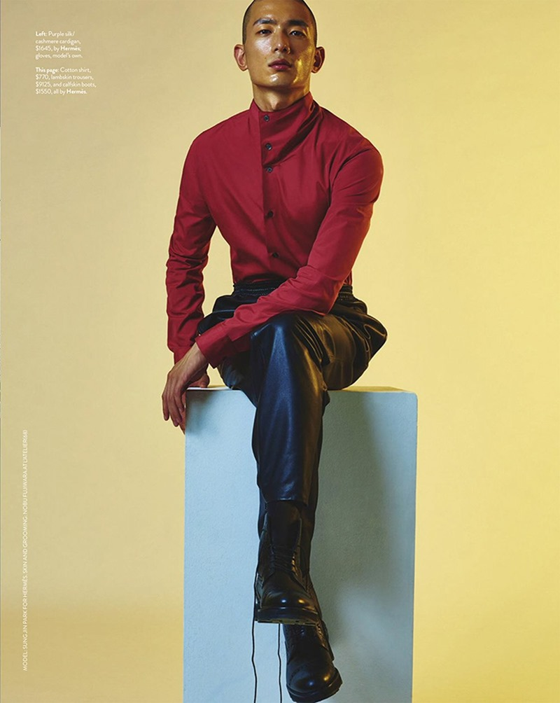 GQ AUSTRALIA Sung Jun Park by Philippe Vogelenzang. Brad Homes, Fall 2016, www.imageamplified.com, Image Amplified8