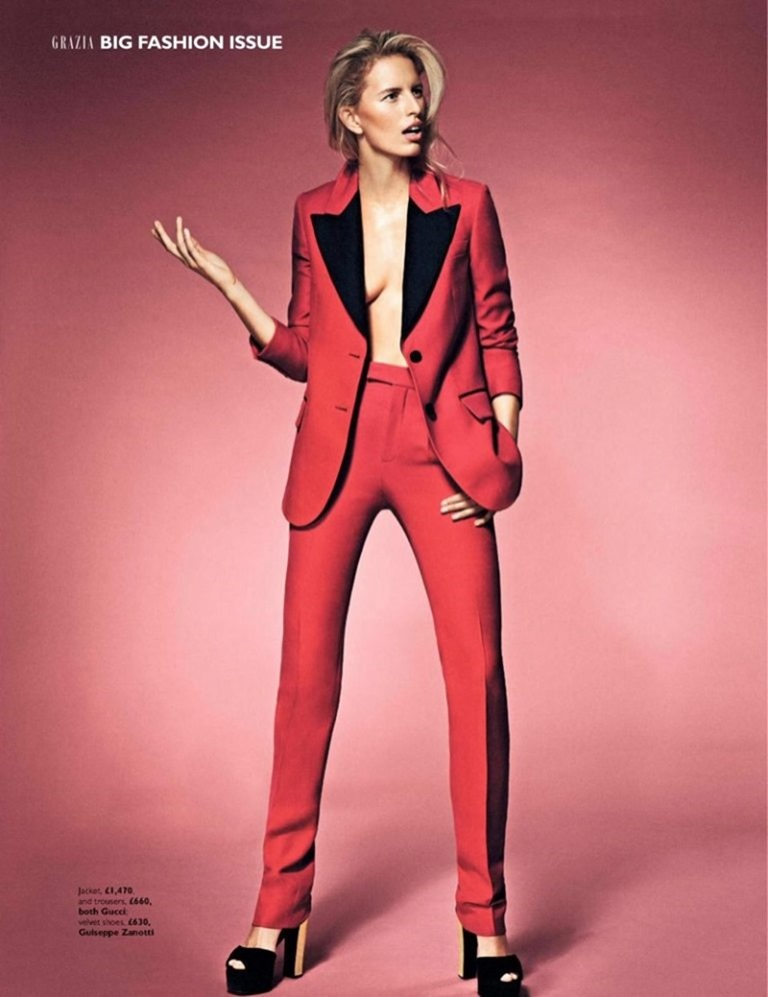 GRAZIA UK Karolina Kurkova by Alex Bramall. Natalie Wansbrough Jones, September 2016, www.imageamplified.com, Image Amplified (2)
