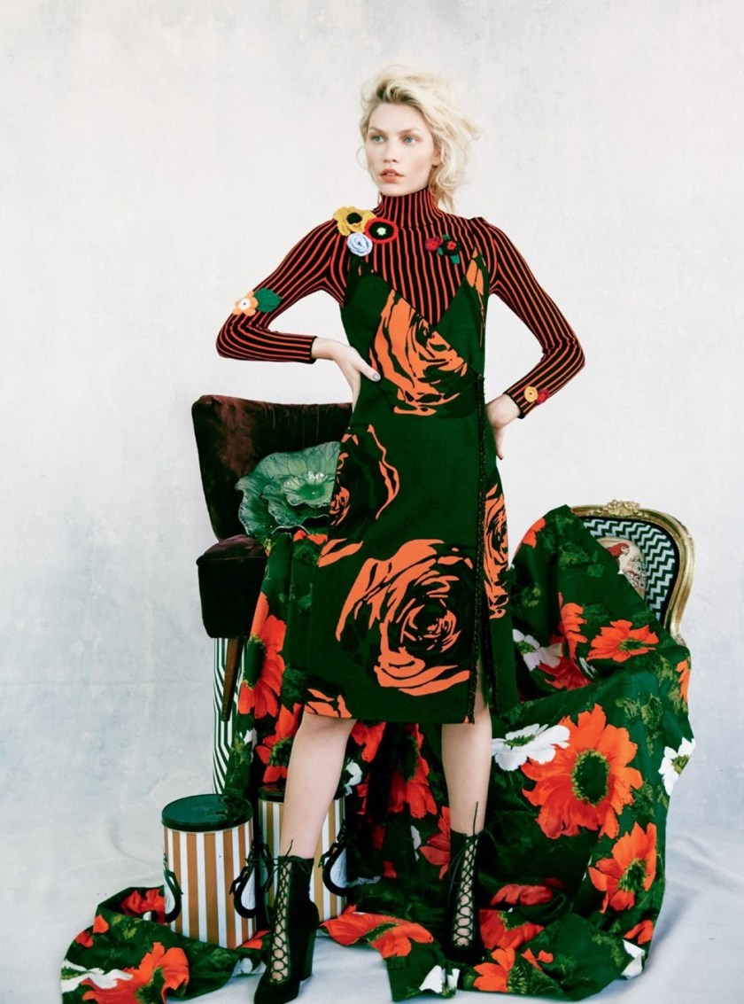 HARPER'S BAZAAR UK Aline Weber by Erik Madigan Heck. Charlie Harrington, November 2016, www.imageamplified.com, Image Amplified (1)