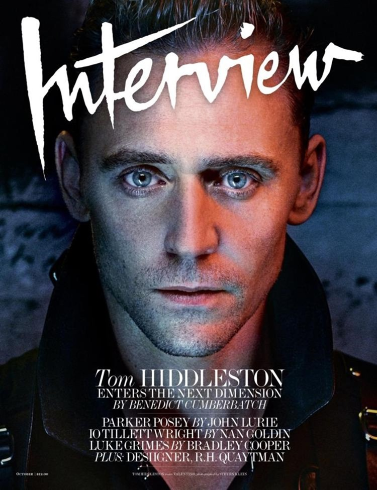 INTERVIEW MAGAZINE Tom Hiddleston by Steven Klein. Karl Templer, October 2016, www.imageamplified.com, Image Amplified (1)