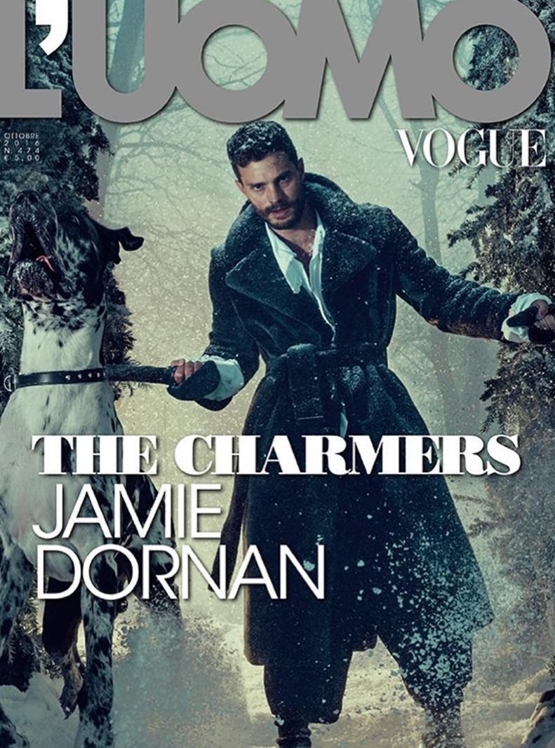 L'UOMO VOGUE Jamie Dornan by Norman Jean Roy. Robert Rabensteiner, October 2016, www.imageamplified.com, Image Amplified (2)