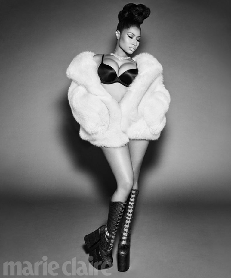 MARIE CLAIRE MAGAZINE Nicki Minaj by Kai Z Feng. November 2016, www.imageamplified.com, Image Amplified (3)