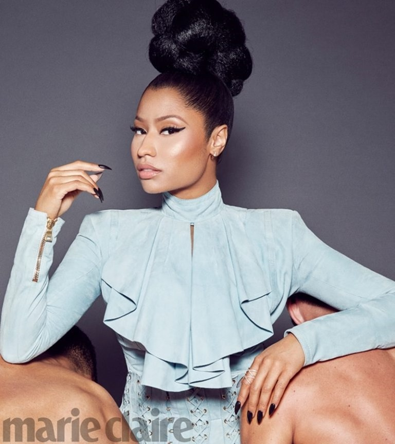 MARIE CLAIRE MAGAZINE Nicki Minaj by Kai Z Feng. November 2016, www.imageamplified.com, Image Amplified (2)