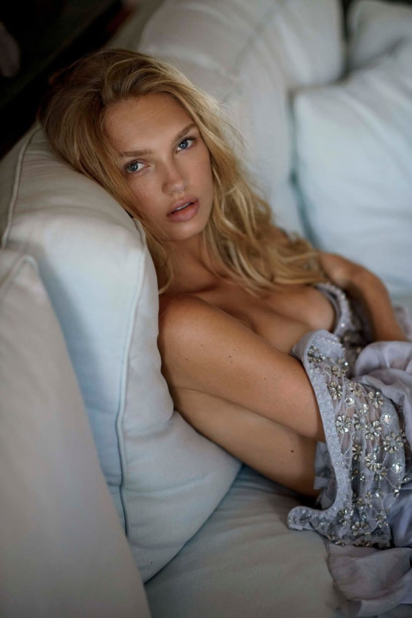 MAXIM MAGAZINE Romee Strijd by Gilles Bensimon. Caroline Christiansson, October 2016, www.imageamplified.com, Image Amplified6