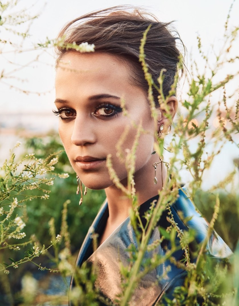 PORTER MAGAZINE Alicia Vikander by Ryan McGinley. George Cortina, Fall 2016, www.imageamplified.com, Image Amplified1