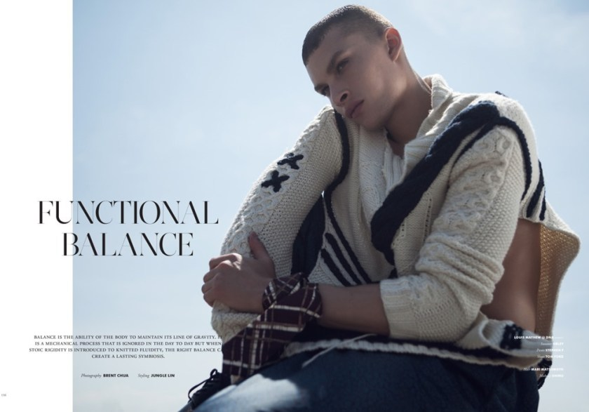 TOM MAGAZINE Louis Mayhew by Brent Chua. Jungle Lin, Fall 2016, www.imageamplified.com, Image Amplified1