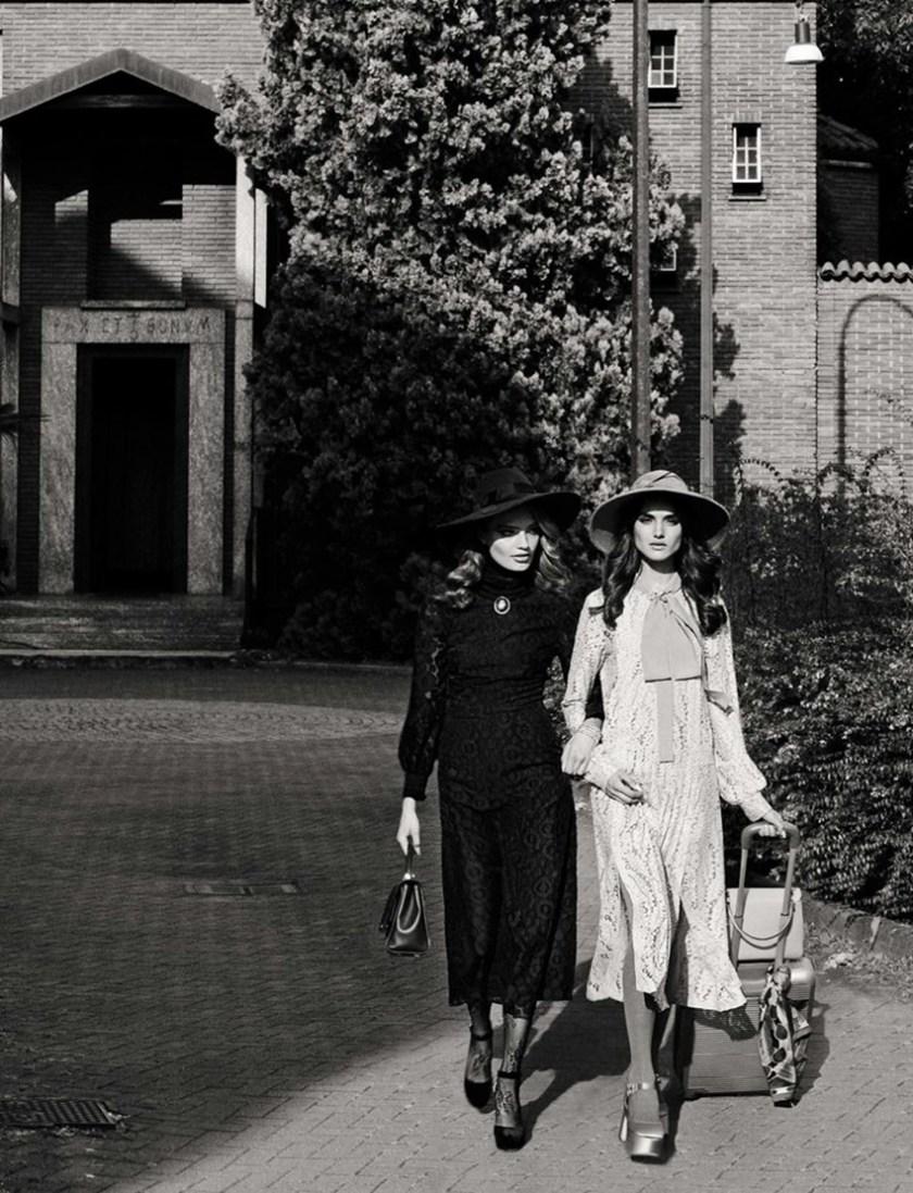 VOGUE ITALIA Blanca Padilla & Anna Mila by Greg Lotus. Valentina Serra, October 2016, www.imageamplified.com, Image Amplified1