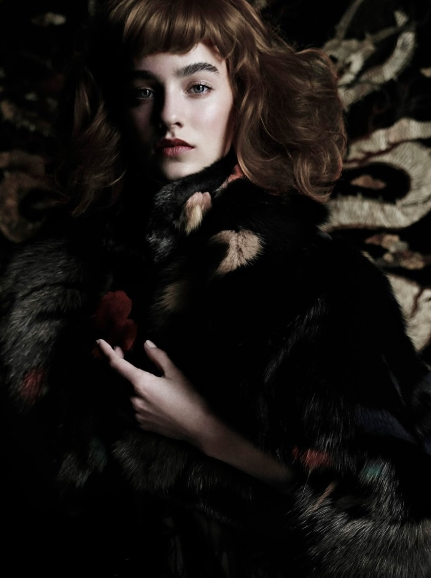 VOGUE ITALIA Maartje Verhoef by Tom Munro. David Bradshaw, September 2016, www.imageamplified.com, Image Amplified4