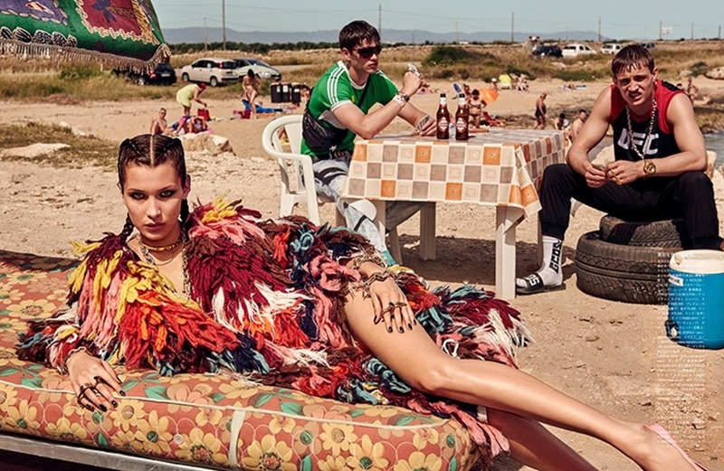 VOGUE JAPAN Bella Hadid & Filip Hrivnak by Giampaolo Sgura. Anna Dello Russo, November 2016, www.imageamplified.com, Image Amplified10