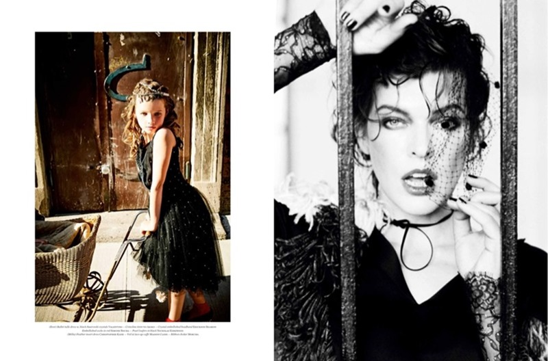 VS MAGAZINE Milla Jovovich & Ever Gabo Jovovich-Anderson by Ellen von Unwerth. Vibe Dabelsteen, Fall 2016, www.imageamplified.com, Image Amplified (11)