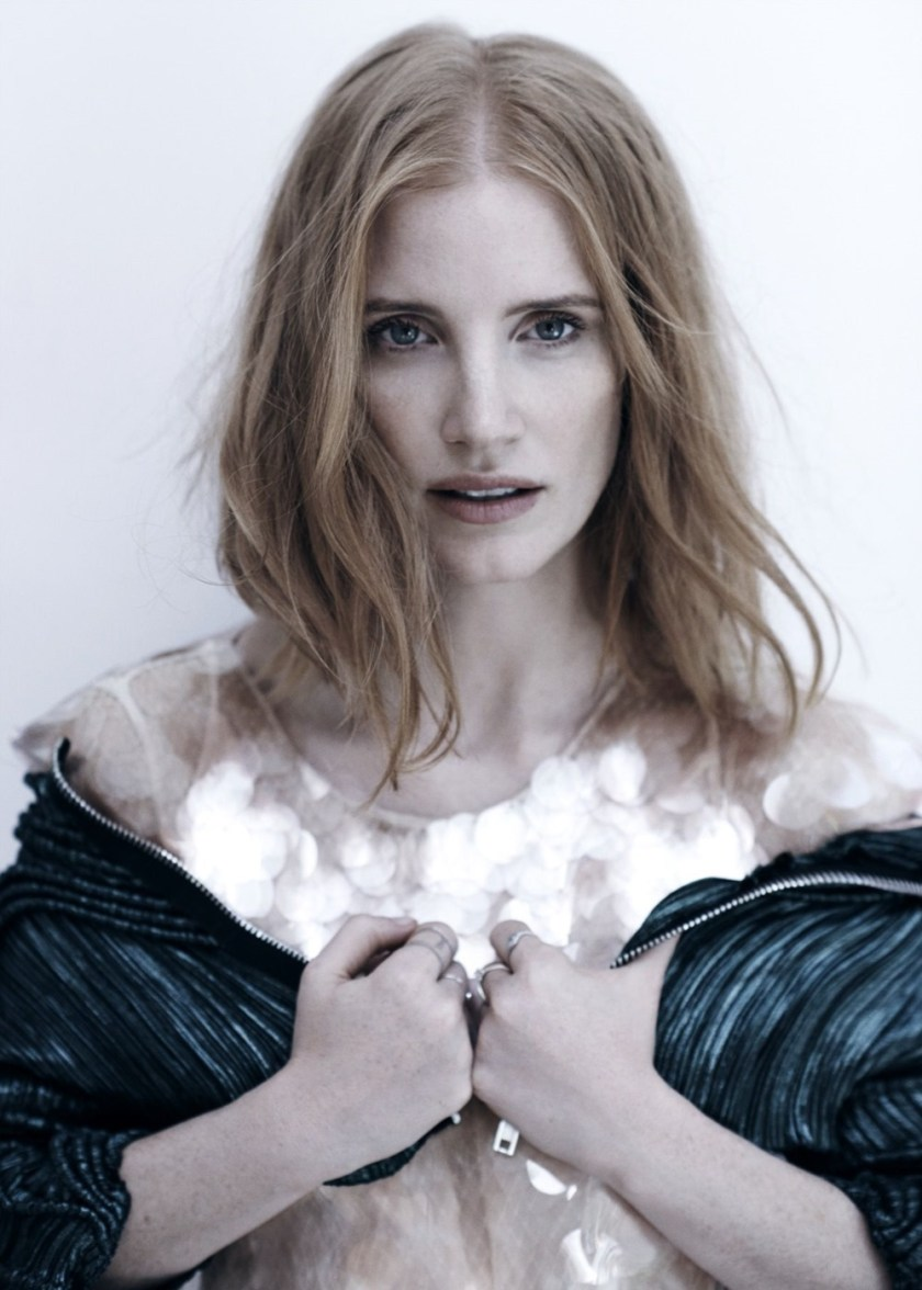 C MAGAZINE Jessica Chastain by Jan Welters. Alison Edmond, November 2016, www.imageamplified.com, Image Amplified (2)