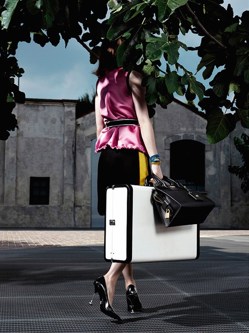 CAMPAIGN Jessica Chastain for Prada Resort 2017 by Willy Vanderperre. www.imageamplified.com, Image Amplified (1)