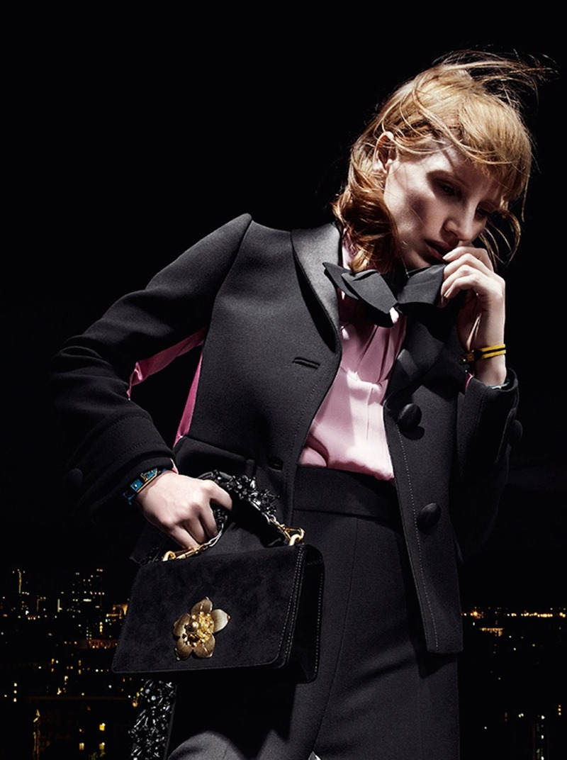CAMPAIGN Jessica Chastain for Prada Resort 2017 by Willy Vanderperre. www.imageamplified.com, Image Amplified (3)