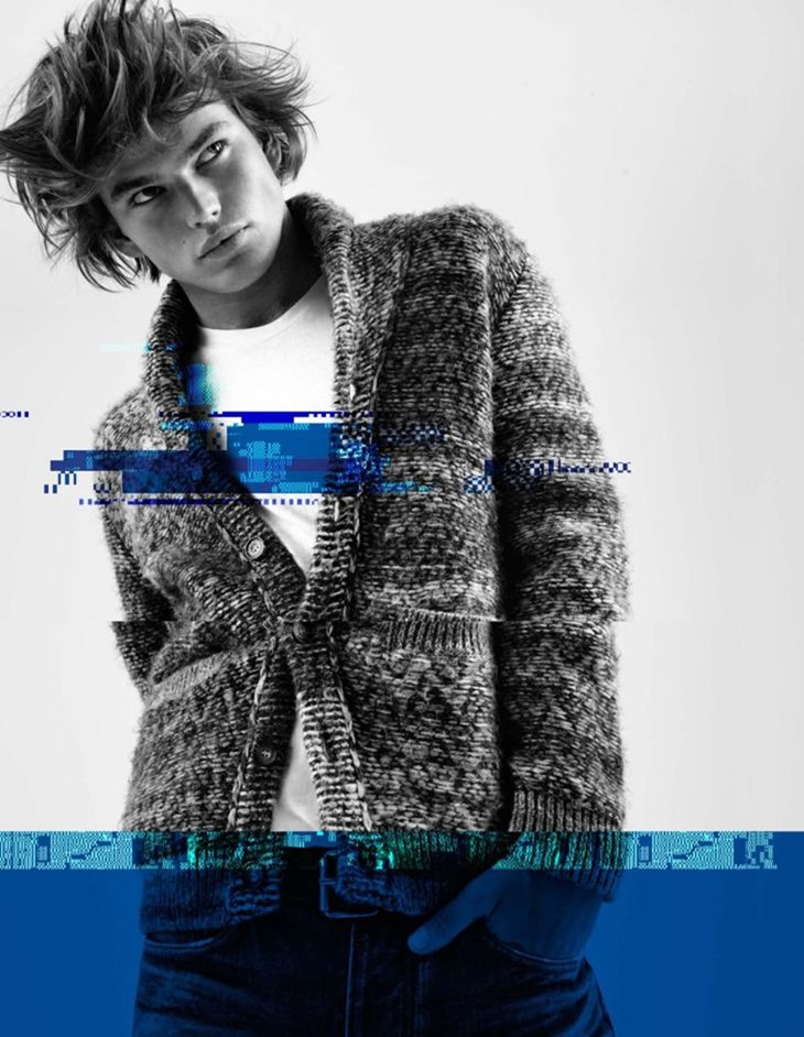 CAMPAIGN Jordan Barrett for Pepe Jeans Fall 2016 by Scott Trindle. www.imageamplified.com, Image Amplified (6)