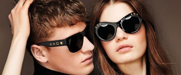 CAMPAIGN Matty Carrington for Versace Eyewear Fall 2016. www.imageamplified.com, image Amplified