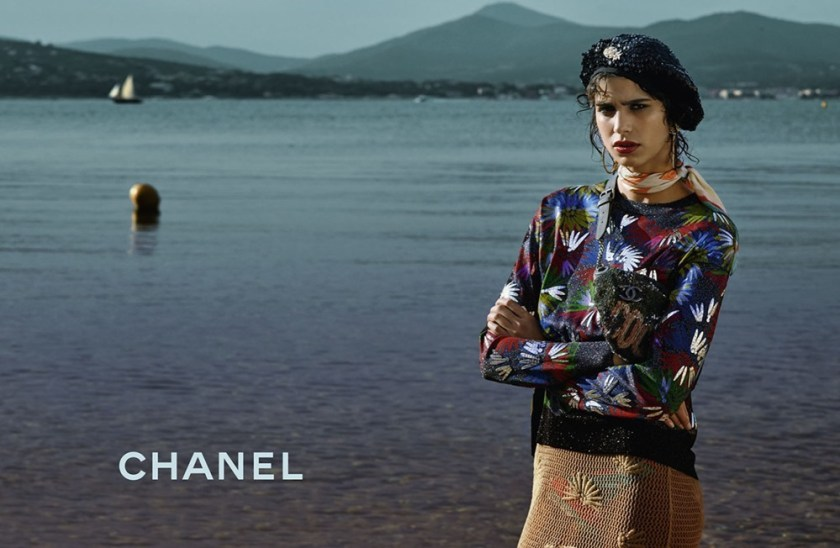 CAMPAIGN Stella Tennant & Mica Arganaraz for Chanel Cruise 2017 by Karl Lagerfeld. www.imageamplified.com, Image Amplified (1)
