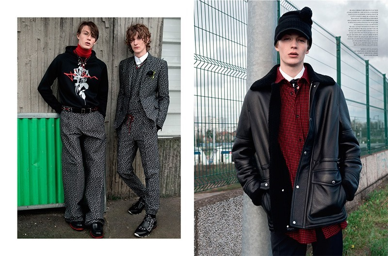 DIOR MAGAZINE Dominik Hahn, Oscar Kindelan & Finnlay Davis by Andreas Larsson. Mattias Karlsson, Fall 2016, www.imageamplified.com, Image Amplified5