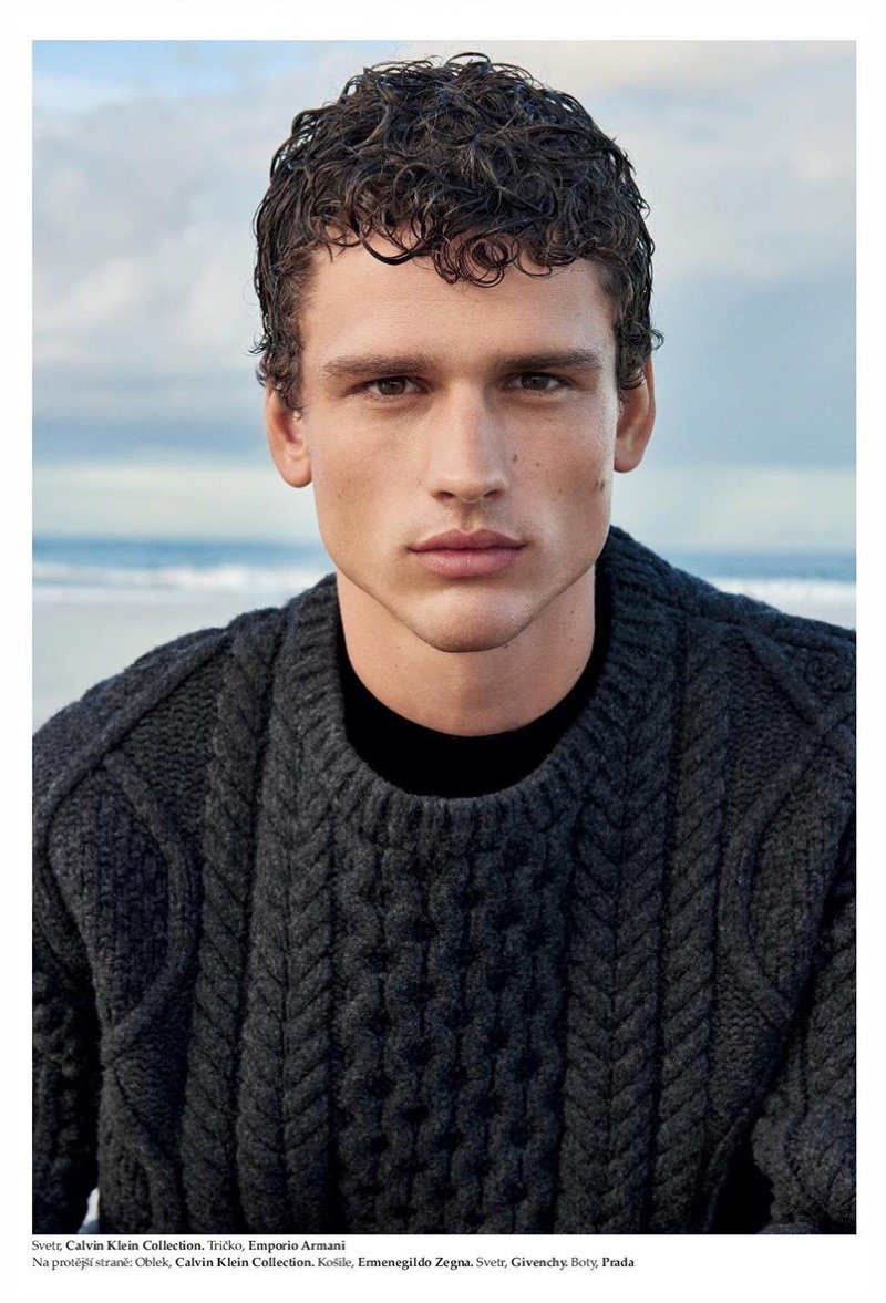 ELLE MAN CZECH Simon Nessman by Branislav Simoncik. Jan Kralicek, Fall 2016, www.imageamplified.com, Image Amplified5