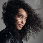 ELLE UK: Alicia Keys by Kerry Hallihan