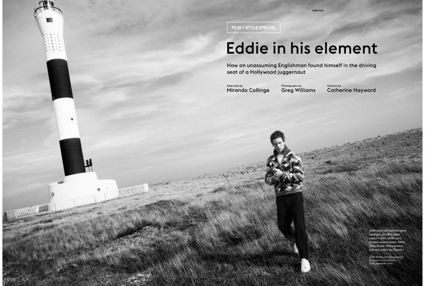 ESQUIRE UK Eddie Redmayne by Greg Williams. Catherine Hayward, Fall 2016, www.imageamplified.com, Image Amplified1
