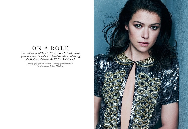 FASHION MAGAZINE Tatiana Maslany by Chris Nicholls. Zeina Esmail, November 2016, www.imageamplified.com, Image Amplified2