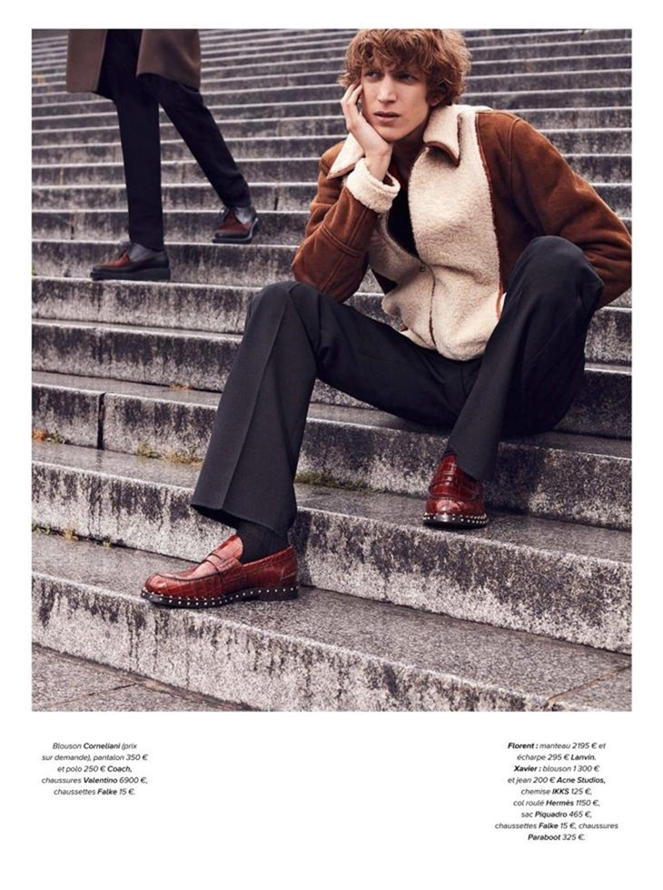 GQ FRANCE Florent Stambio & Xavier Buestel by Lea Nielsen. James Sleaford, November 2016, www.imageamplified.com, Image Amplified (1)