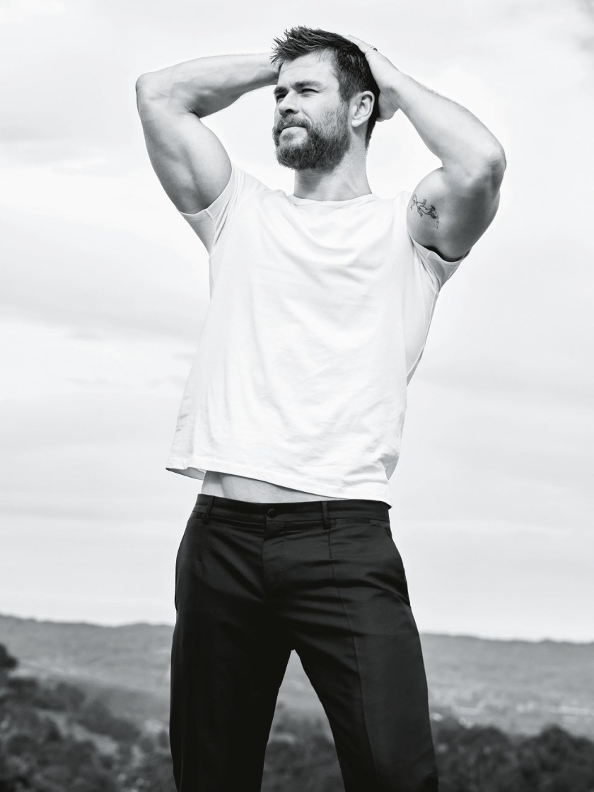 GQ MAGAZINE Chris Hemsworth by Doug Inglish. Brad Homes, December 2016, www.imageamplified.com, Image Amplified2