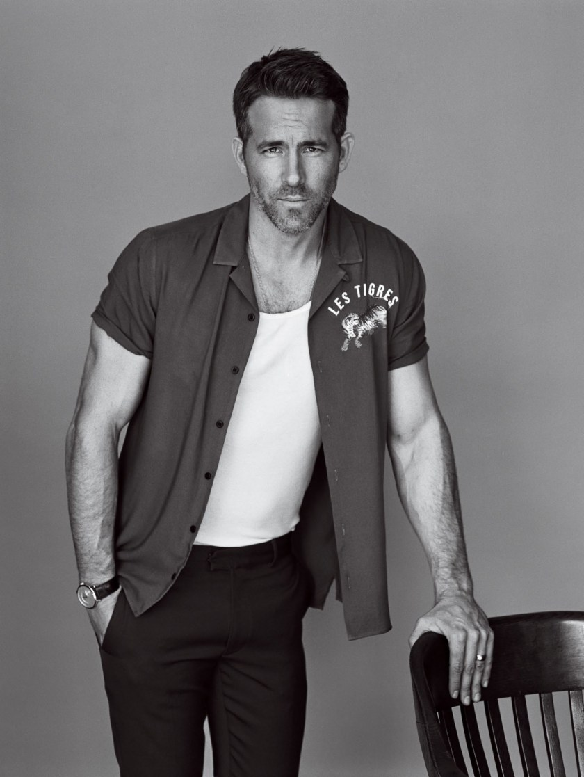 GQ MAGAZINE Ryan Reynolds by Alasdair McLellan. December 2016, www.imageamplified.com, Image Amplified9