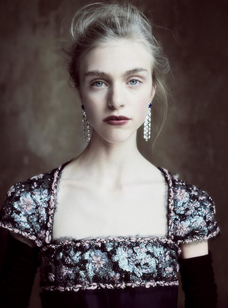 HARPER'S BAZAAR UK Hedvig Palm by Regan Cameron. Miranda Almond, December 2016, www.imageamplified.com, Image Amplified5