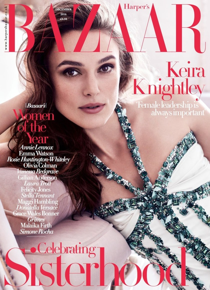 HARPER'S BAZAAR UK Keira Knightley by Alexi Lubomirski. Leith Clark, December 2016, www.imageamplified.com, Image Amplified (12)