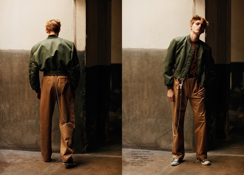HERCULES MAGAZINE Yanniek Buijs by Daniel Riera. Francesco Sourigues, Fall 2016, www.imageamplified.com, Image Amplified6