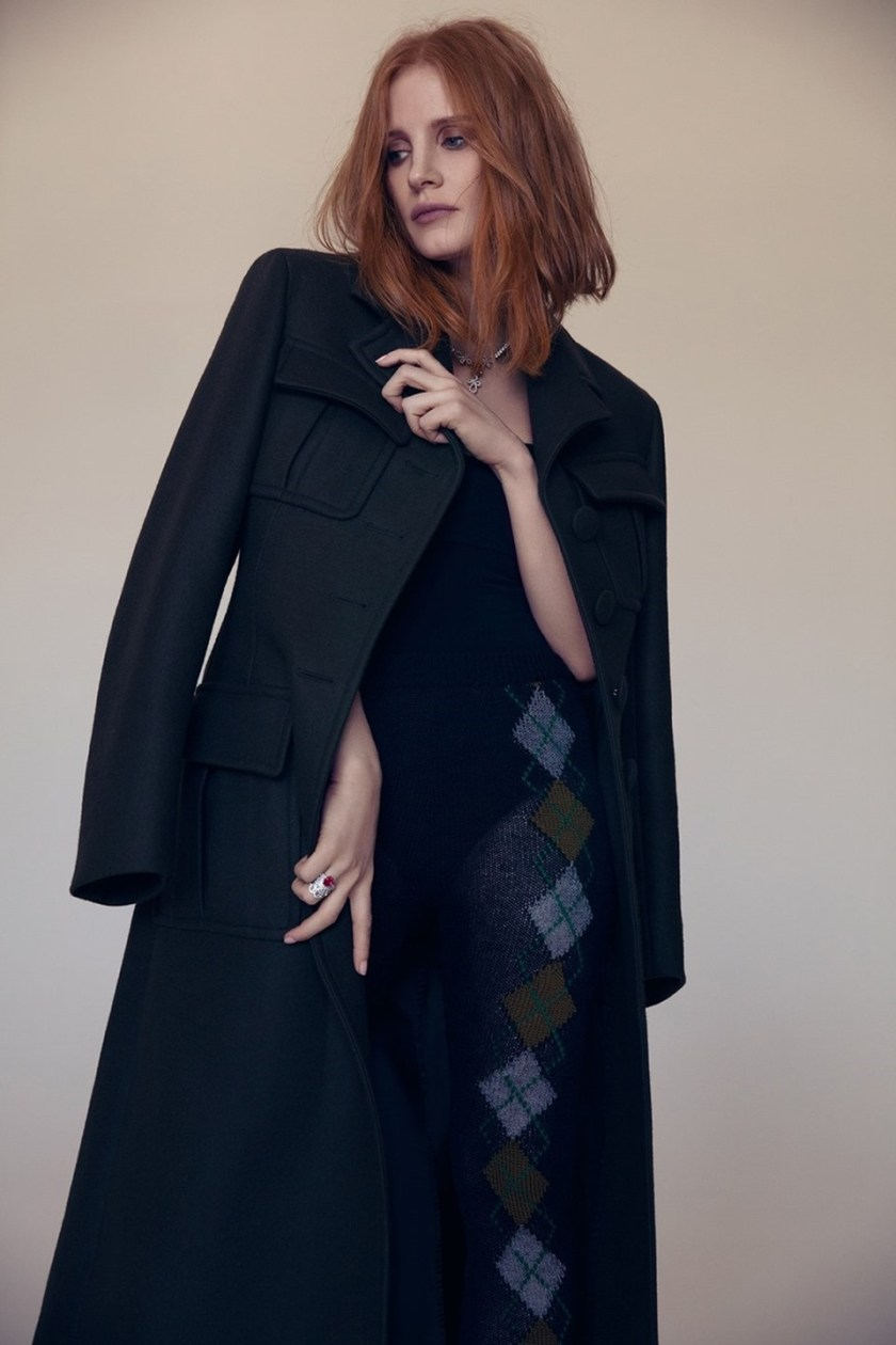 L'OFFICIEL PARIS Jessica Chastain by Dusan Reljin. Enrica Pelosini, November 2016, www.imageamplified.com, Image Amplified8