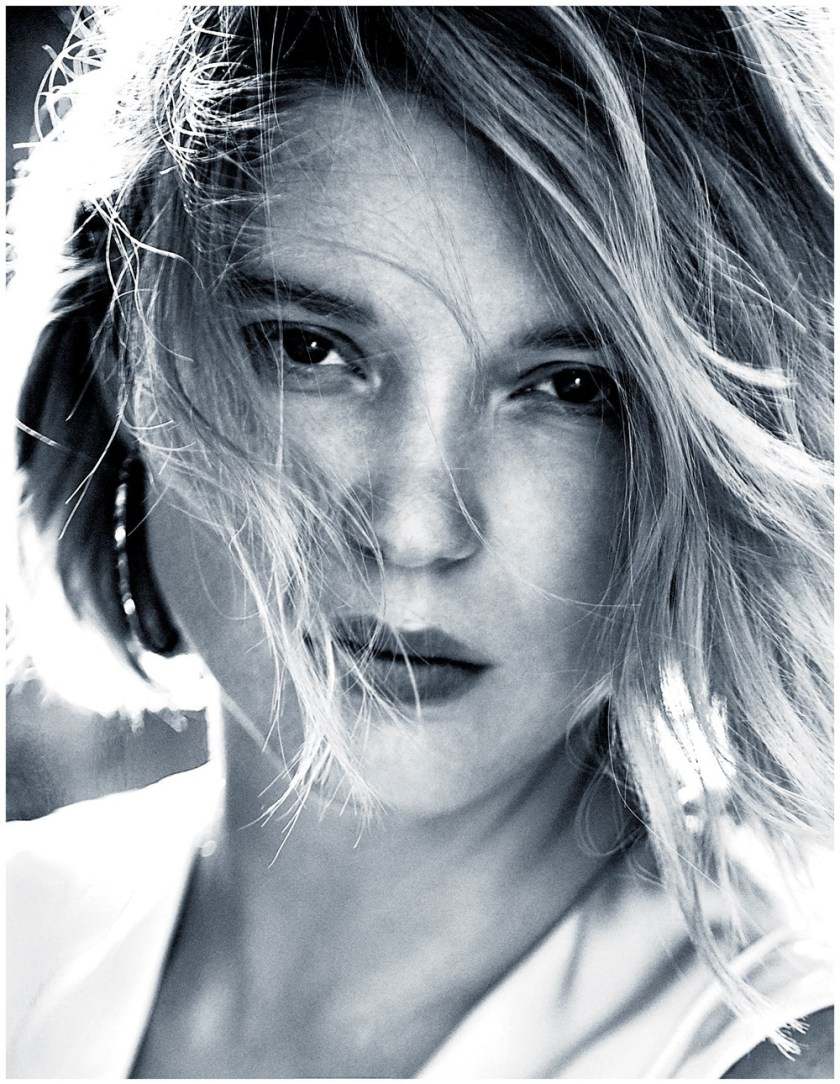 MADAME FIGARO Lea Seydoux by Lucian Bor. Agnes Poulle, November 2016, www.imageamplified.com, Image Amplified