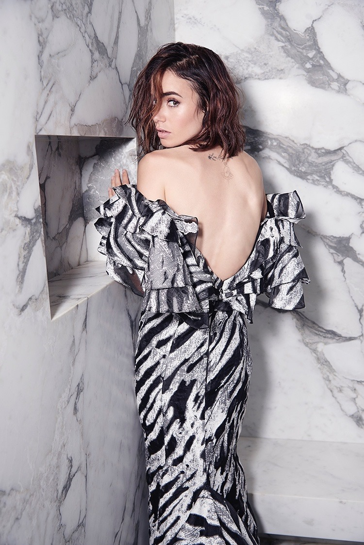 MALIBU MAGAZINE Lily Collins by Mark Squires. Rob & Mariels, Fall 2016, www.imageamplified.com, Image Amplified7