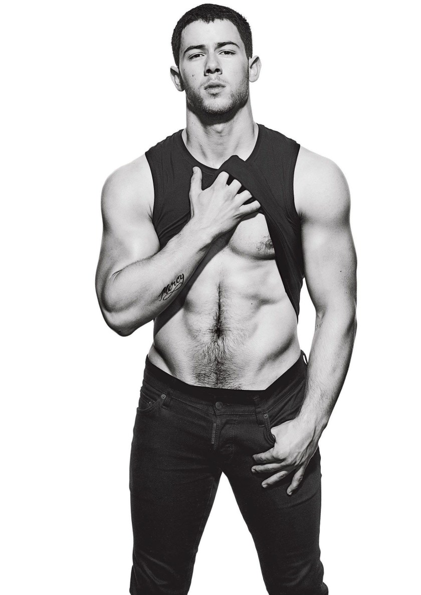 MEN'S FITNESS Nick Jonas by Peter Yang. December 2016, www.imageamplified.com, Image Amplified6