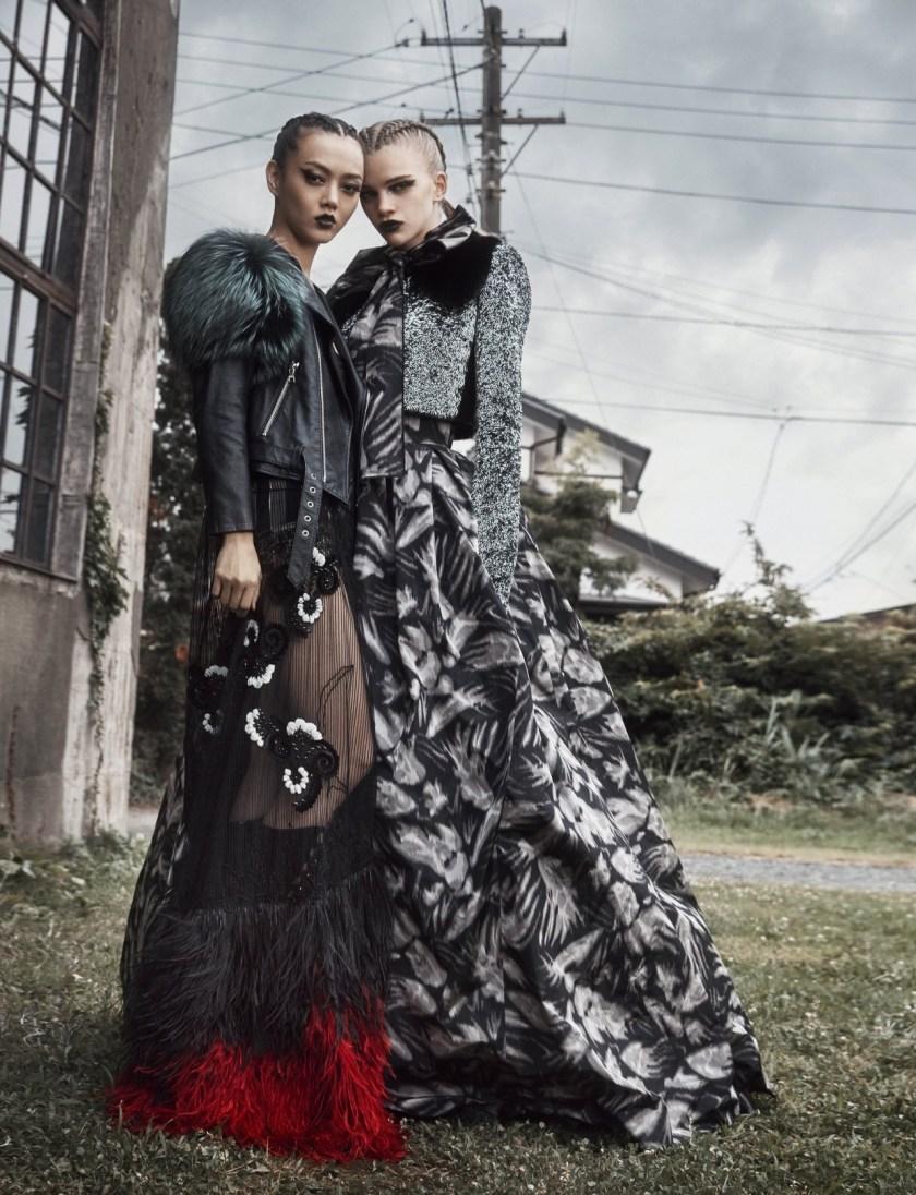 NUMERO TOKYO Stella Lucia & Rila Fukushima by Federico de Angelis. Ako Tanaka, December 2016, www.imageamplified.com, Image Amplified3