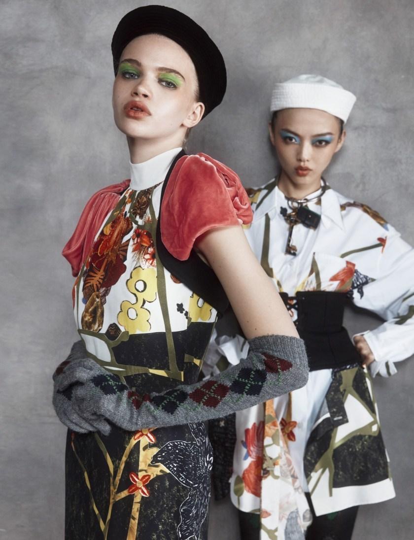 NUMERO TOKYO Stella Lucia & Rila Fukushima by Federico de Angelis. Ako Tanaka, December 2016, www.imageamplified.com, Image Amplified8