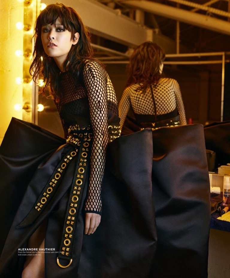 S STYLE MAGAZINE Hannare Blaauboer & Mae Lapres by Baard Lunde. Mike Adler, Fall 2016, www.imageamplified.com, Image Amplified (3)