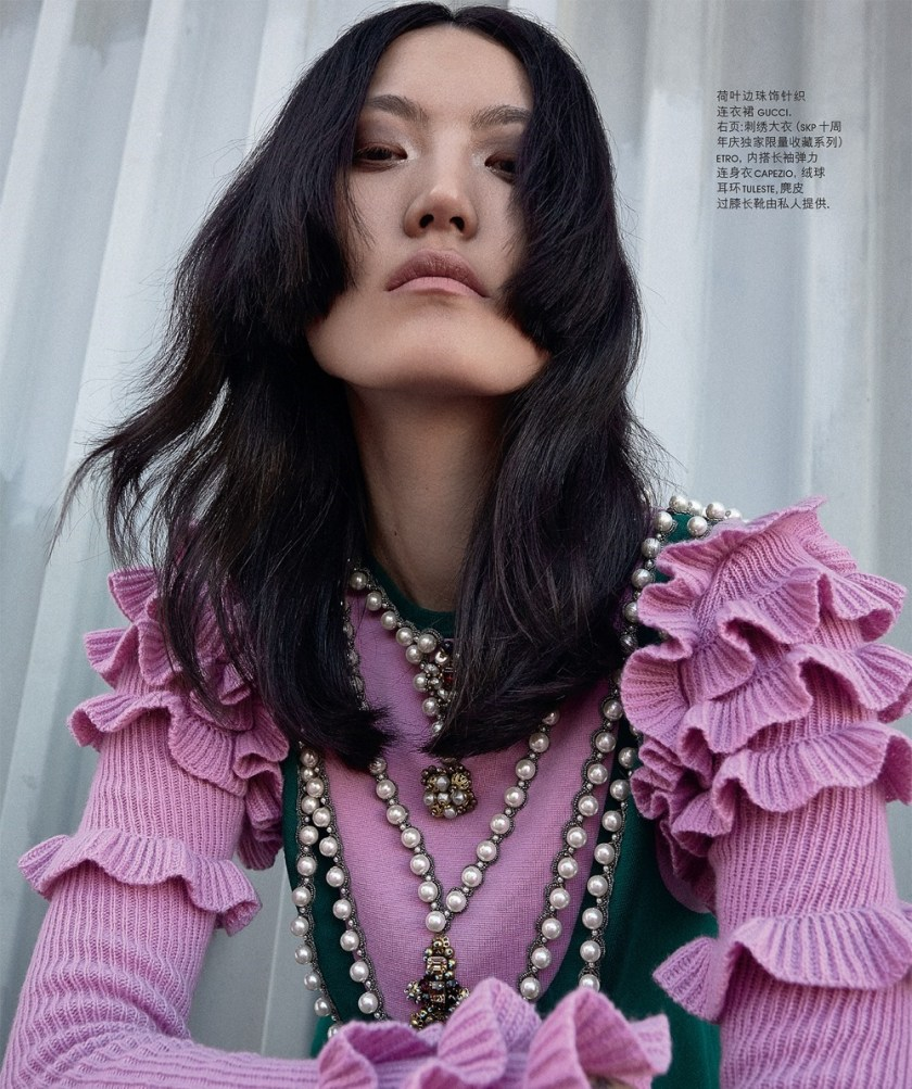 SKP MAGAZINE CHINA Hye Seung Lee by Justin Borbely. Brylie Fowler, December 2016, www.imageamplified.com, Image Amplified1