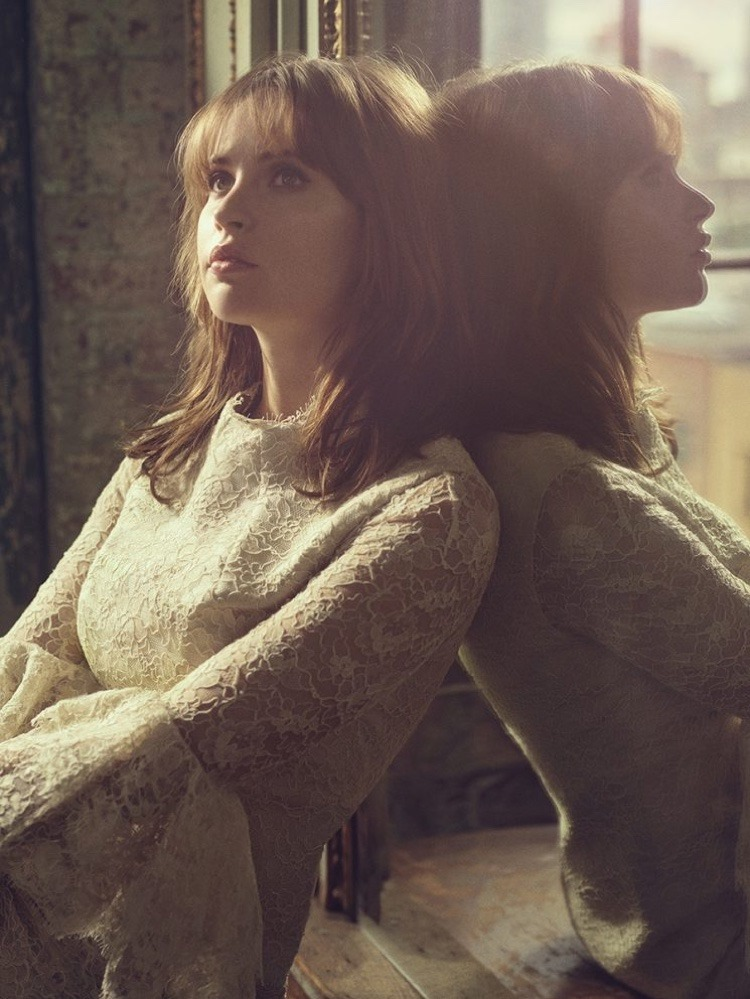 THE HOLLYWOOD REPORTER Felicity Jones by Miller Mobley. October 2016, www.imageamplified.com, Image Amplified7
