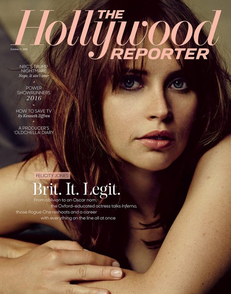 THE HOLLYWOOD REPORTER Felicity Jones by Miller Mobley. October 2016, www.imageamplified.com, Image Amplified1