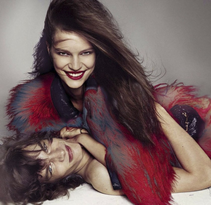 VOGUE ITALIA Free Spirits by Steven Meisel. Karl Templer, November 2016, www.imageamplified.com, Image Amplified16